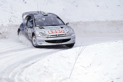 Marcus Gronholm, Timo Rautiainen, Peugeot 206 WRC