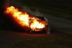 Мартін Труекс мол., Furniture Row Racing Toyota, crash