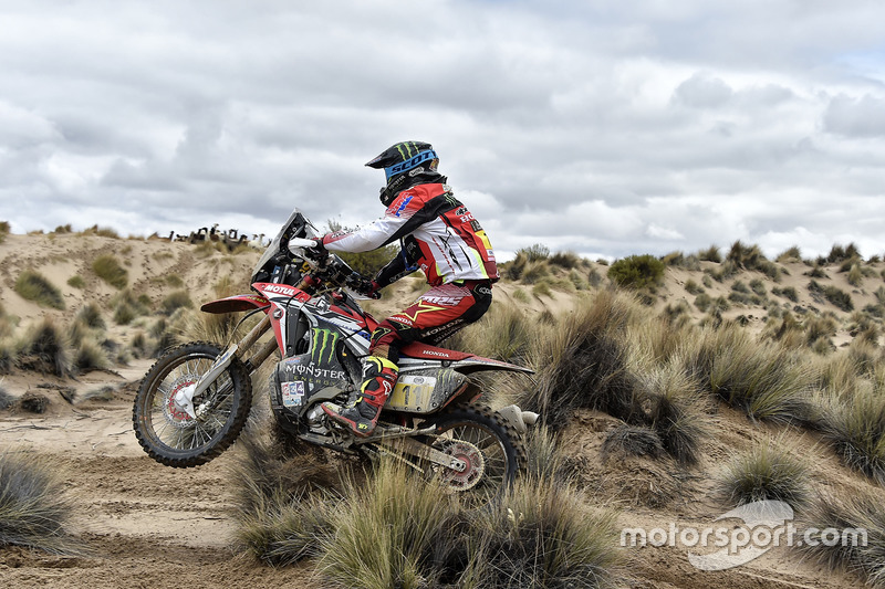 #11 Monster Energy Honda Team: Joan Barreda
