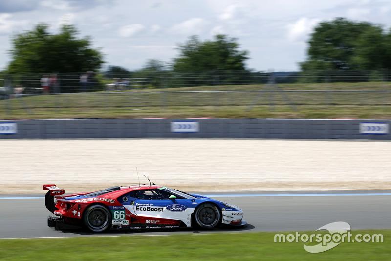 #66 Ford Chip Ganassi Racing Ford GT: Олівер Пла, Штефан Мюке, Біллі Джонс