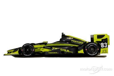 Charlie Kimball, Chip Ganassi Racing, la livrea al GP di Phoenix