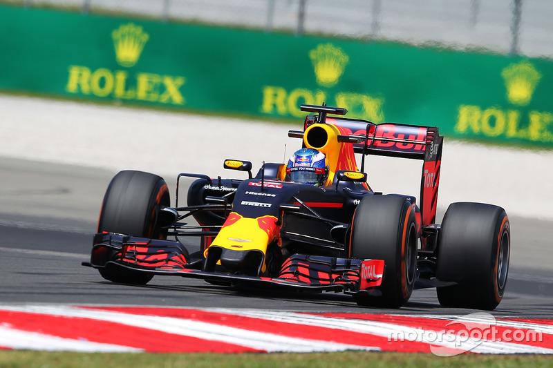 2016 : Daniel Ricciardo, Red Bull-TAG Heuer RB12