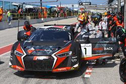 Pit stop, Laurens Vanthoor, Frederic Vervisch, Audi R8 LMS, Belgian Audi Club Team WRT
