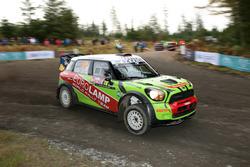 Valery Gorban, Volodymyr Korsia, Mini Cooper WRC, EUROLAMP WORLD RALLY TEAM