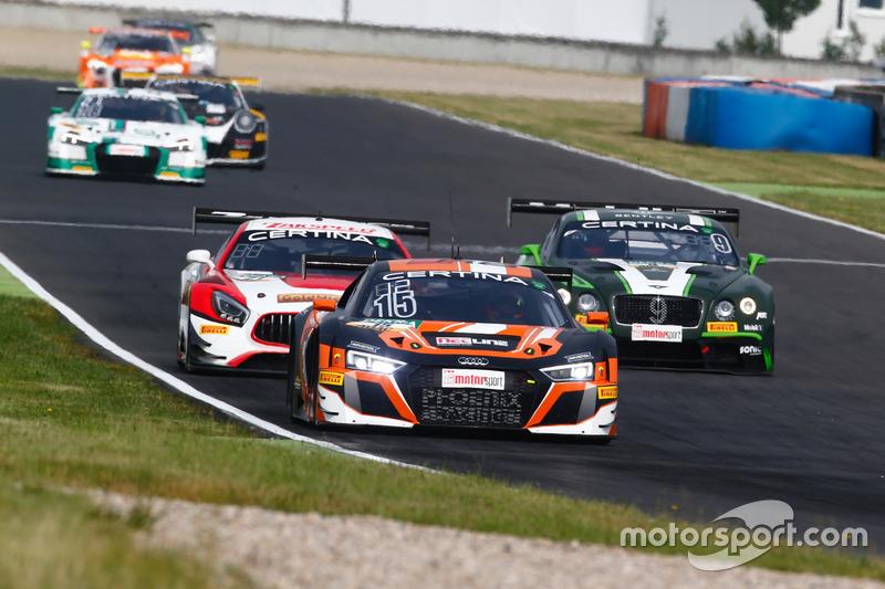 #15 Phoenix Racing, Audi R8 LMS: Markus Pommer, Markus Winkelhock