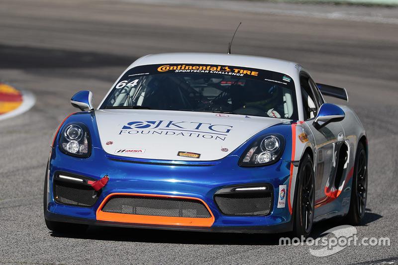 #64 Team TGM Porsche Cayman GT4: Ted Giovanis, Guy Cosmo