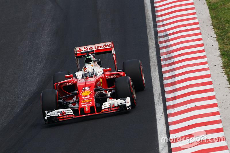 4. Sebastian Vettel, Ferrari SF16-H