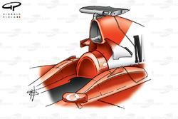 Ferrari F2002 airbox