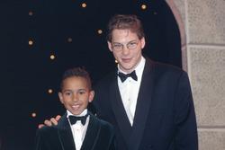 Lewis Hamilton and Jacques Villeneuve