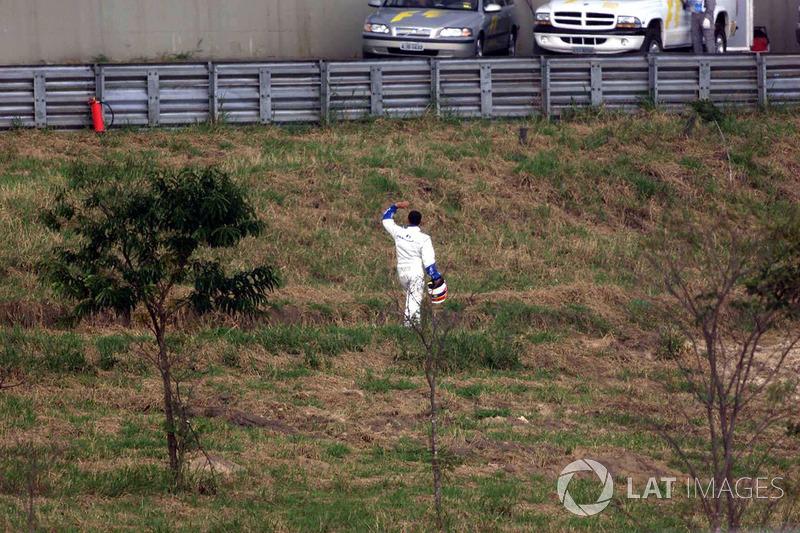 Juan Pablo Montoya regresa a pits