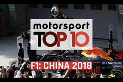 Top 10 Momentos GP de China 2018