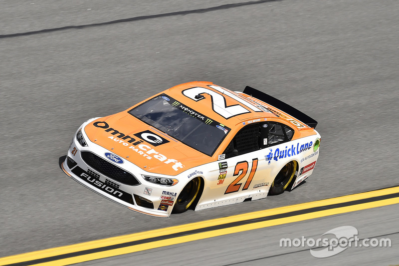 №21. Пол Менард, Wood Brothers Racing, Omnicraft Auto Parts/Quick Lane Tire&Auto Ford Fusion