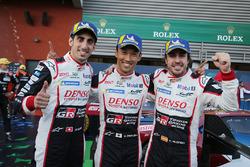 Race winners #8 Toyota Gazoo Racing Toyota TS050: Sébastien Buemi, Kazuki Nakajima, Fernando Alonso
