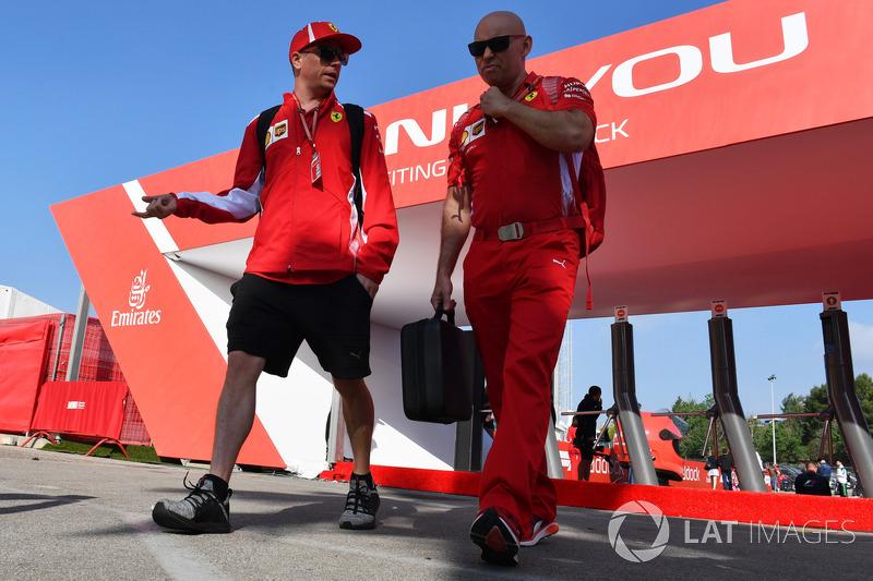 Kimi Raikkonen, Ferrari, Mark Arnall, pelatih pribadi