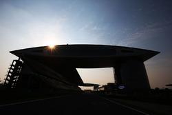 Sonnenaufgang am Shanghai International Circuit