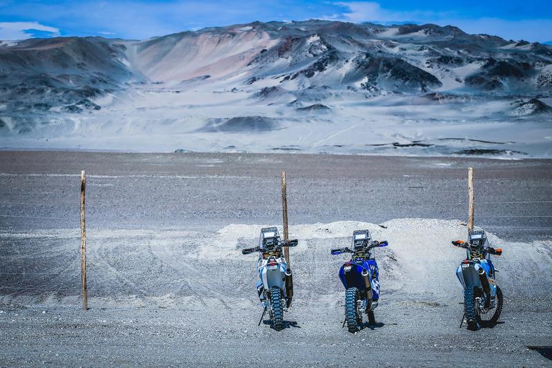 Bikes on a beautiful landscape