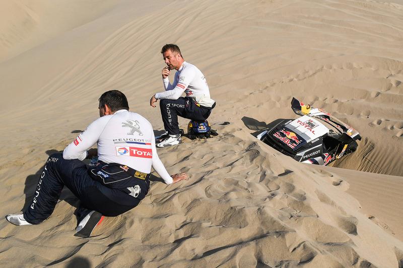 Себастьен Лёб и Даниэль Элена, Peugeot Sport, Peugeot 3008 DKR (№306)