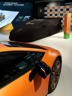 Orange1 GRT team launch at Lamborghini Museum