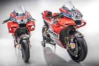 Bikes of Andrea Dovizioso and  Jorge Lorenzo, Ducati Team