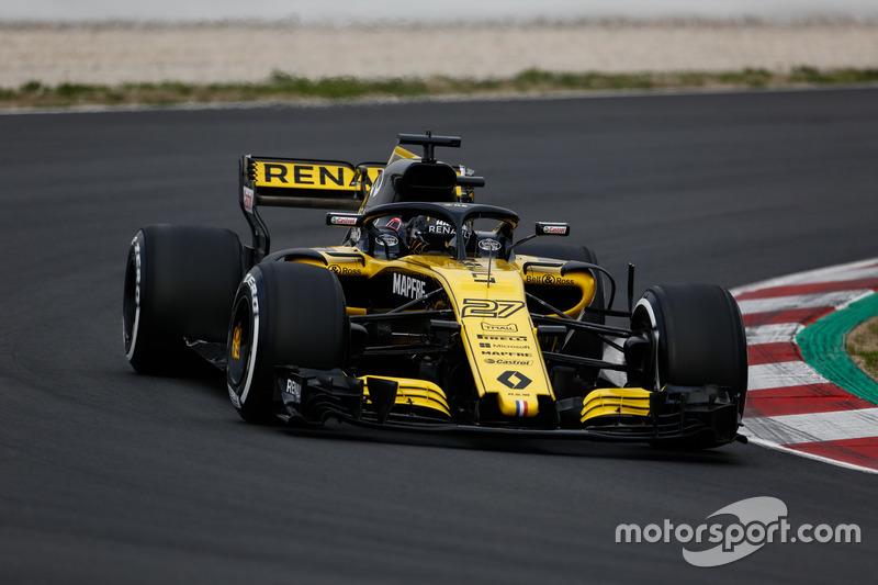 Nico Hulkenberg, Renault Sport F1 Team R.S. 18