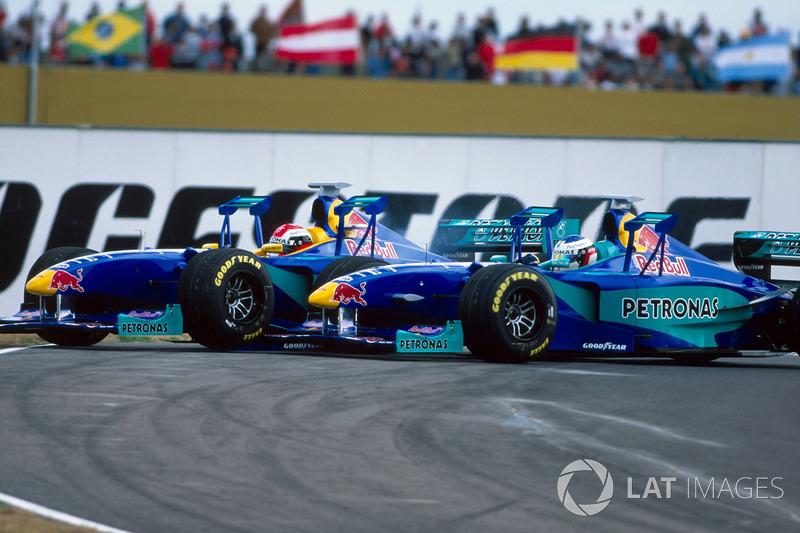 Johnny Herbert, Sauber Petronas C18 ve Jean Alesi