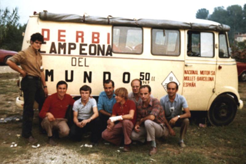 Angel Nieto 1969 campeón del mundo 50 cc