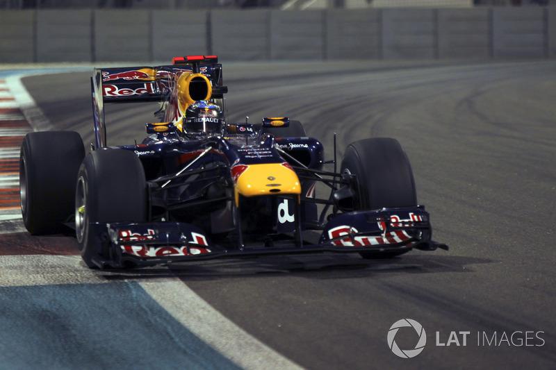 2010 - Sebastian Vettel, Red Bull Racing-Renault