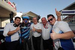 Il vincitore di gara 2 Stefano Comini, Comtoyou Racing, Audi RS 3 LMS TCR