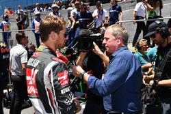 Martin Brundle, Sky TV ve Romain Grosjean, Haas F1