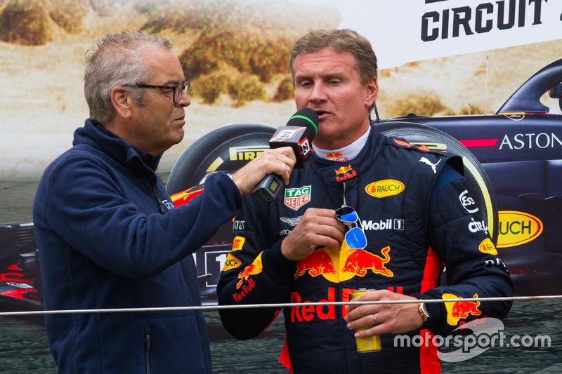 David Coulthard lors des Jumbo Racing Days