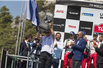 Podium : Tommi Makinen, Toyota Gazoo Racing
