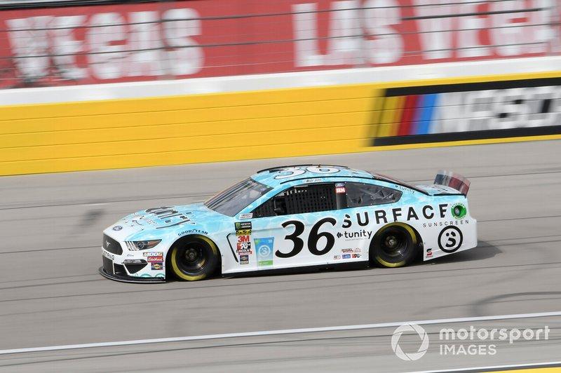 Matt Tifft Front Row Motorsports Ford Mustang Surface Sunscreen Tunity