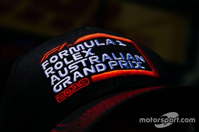 Gorra del Gran Premio de Australia de Fórmula 1