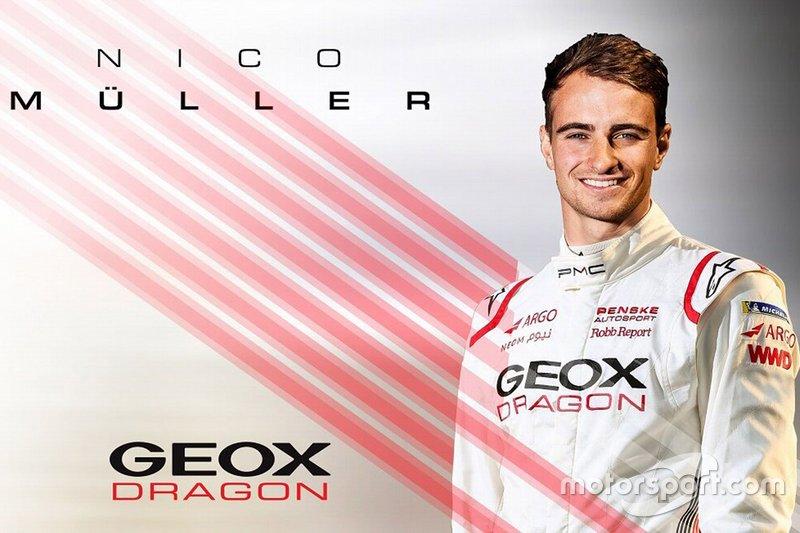 Нико Мюллер в Dragon Racing