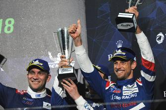 3. Vitaly Petrov, Jenson Button, SMP Racing