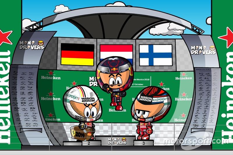 El GP de México de Fórmula 1 2018, por MiniDrivers