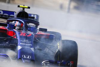 П'єр Гаслі, Scuderia Toro Rosso STR13, розворот
