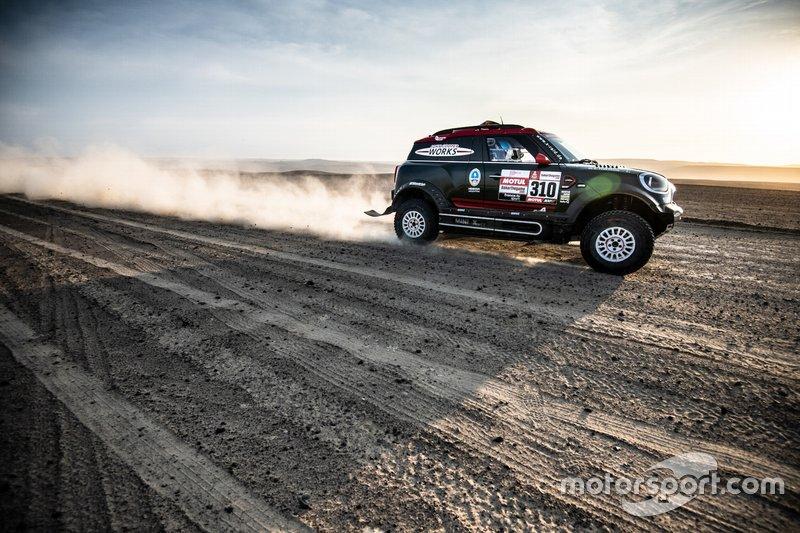 Орландо Терранова и Бернардо Грауэ, X-raid MINI JCW Rally Team, MINI JCW Rally (№310)