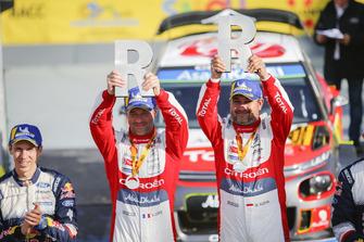 الفائز بالرالي سيباستيان لوب ودانيال ايلينا، سيتروين سي3، سيتروين موتورسبورت