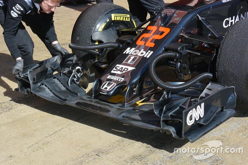 Frontflügel, McLaren MP4-31