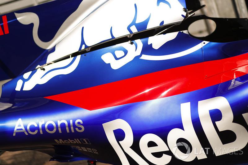 Аеродинамічні елементи Scuderia Toro Rosso