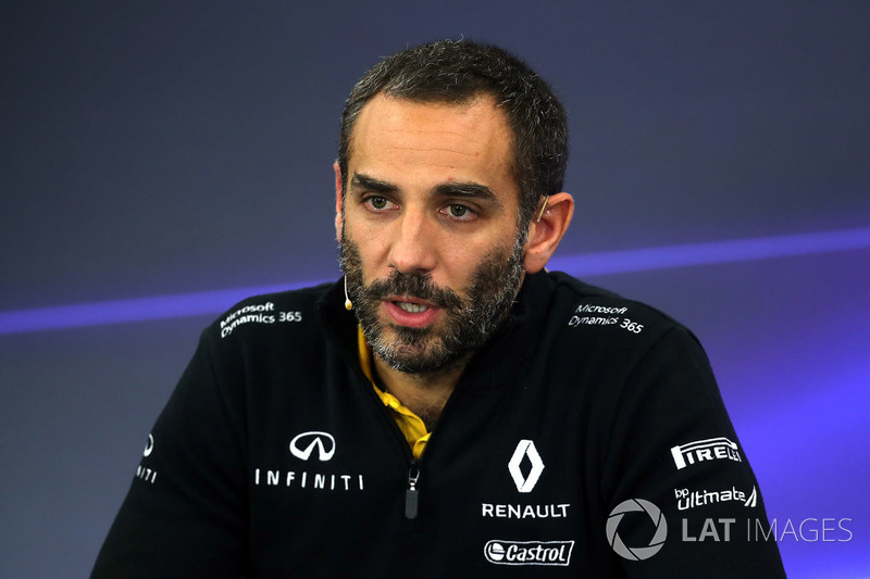 Cyril Abiteboul, director de Renault Sport F1