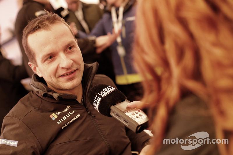 Juho Hänninen, Toyota Racing