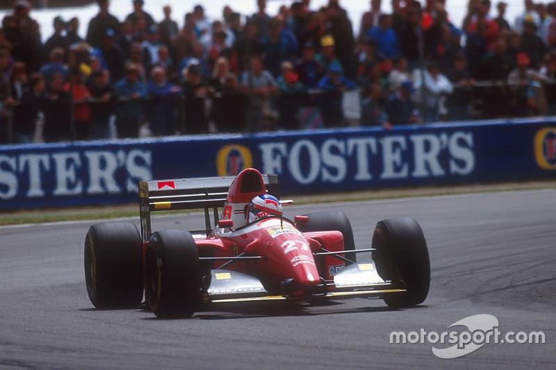 1993: Ferrari F93A (три подиума, 4-е место в КК)