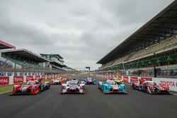 Ligier LMP2 group photo