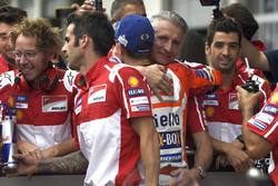 Jorge Lorenzo, Ducati Team, Paolo Ciabatti, Ducati director deportivo