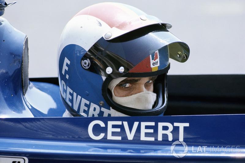 1973年フランスGP:フランソワ・セベール(ティレル)