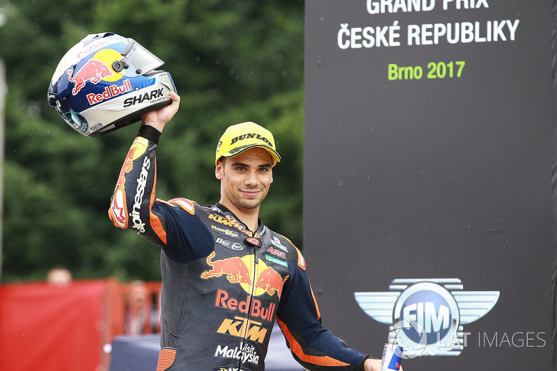 Podium: third place Miguel Oliveira, Red Bull KTM Ajo