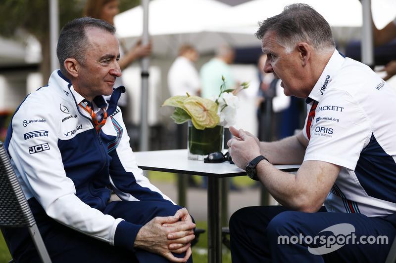 Paddy Lowe, Williams F1, mit Mike O'Driscoll, Williams