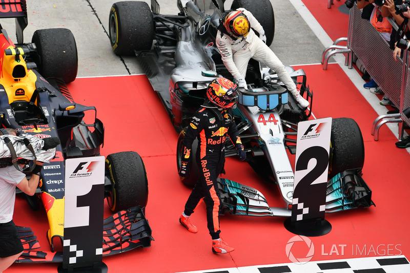 Макс Ферстаппен, Red Bull Racing, Льюіс Хемілтон, Mercedes-Benz F1 W08